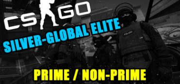 CS: GO (Non-Prime) Silver-Global Elite