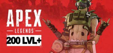 APEX LEGENDS 200 + LVL (Origin аккаунт)