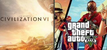 GTA 5 + Civilization VI [Epic Games]