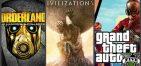GTA 5 + Civilization VI + Borderlands: Handsome Collection [EGS]