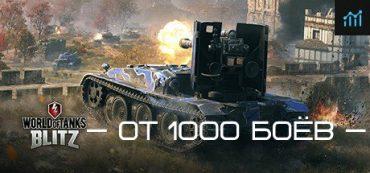 WoT Blitz [Аккаунт] — от 1000 боёв