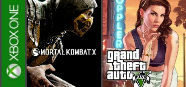 Grand Theft Auto 5, Mortal Kombat X Xbox One