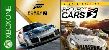 PROJECT CARS 3 (DELUXE) + FORZA 7 (ULTIMATE) XBOX ONE