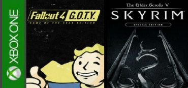 TES Skyrim Special Edition + Fallout 4 GOTY (XBOX ONE)