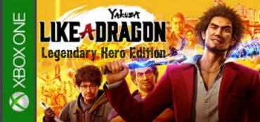 Yakuza Like a Dragon Legendary Hero Edition Xbox One