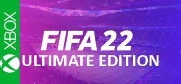 FIFA 22 Ultimate XBOX One Series logo